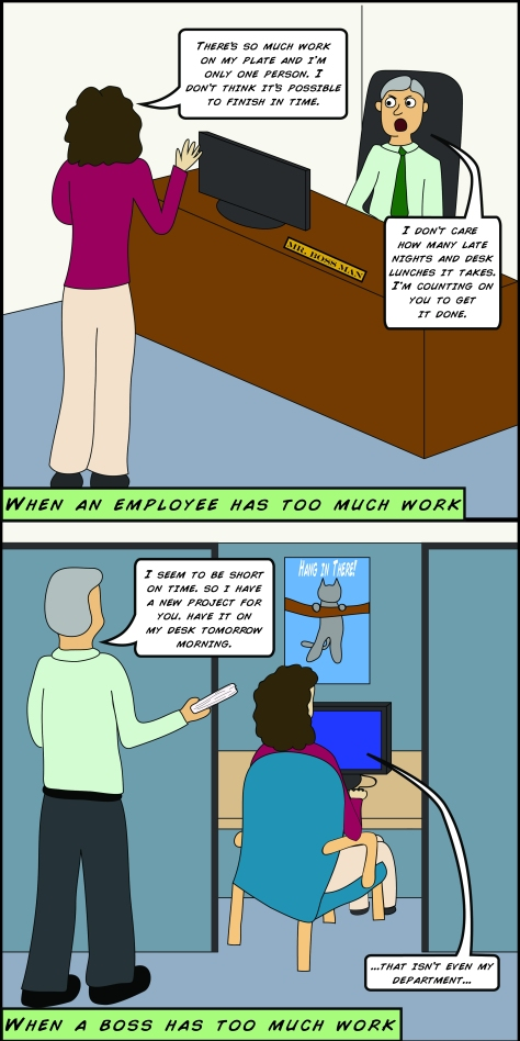 corporate comic